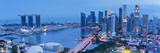 Central Business District and Marina Bay Sands Hotel  Singapore