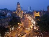 Victoria Terminus or Chhatrapati Shivaji Terminus (Cst)  Mumbai (Bombay)  India