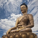 New 'Vajra Throne' Buddha Dordenma on a Hilltop Overlooking Thimphu  Chinese-Made 169-Foot-High Gol