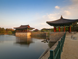 Korea  Gyeongsangbuk-Do  Gyeongju  Anapji Pond