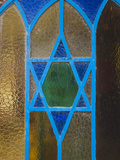 Israel  Upper Galilee  Tsfat  Synagogue Quarter  Star of David on Door