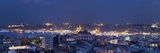 Skyline of Istanbul from the Beyoglu Area  Istanbul  Turkey