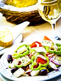Greek Salad  Plaka District  Athens  Greece