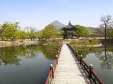 Korea  Seoul  Gyeongbokgung Palace  Hyangwonjeong Pavilion