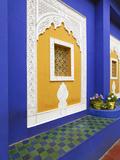 Majorelle Gardens  Marrakesh  Morocco  North Africa