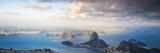Brazil  Rio De Janeiro  Cosme Velho  View of Sugar Loaf from Cocovado