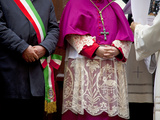 Sicily  Italy  Western Europe  the Mayor and the Bishop  Figures of Power in the Staunch Catholic S