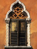 Italy  Veneto  Verona  Western Europe  a Tpical Pointed Window from the Veneto Region