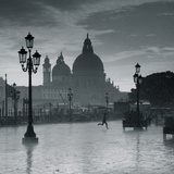 Piazza San Marco Looking across to Santa Maria Della Salute  Venice  Italy