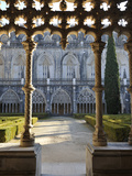 Cloisters of the Batalha Monastery  a UNESCO World Heritage Site  Portugal