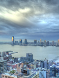 View from Soho Towards New Jersey and Hudon River  Manhattan  New York City  USA