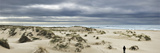 The Vast Empty Beach and Sand Dunes of Sao Jacinto in Winter  Beira Litoral  Portugal