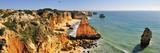 Marinha Beach Cliffs Algarve  Portugal