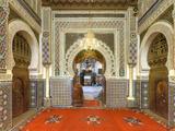 Morocco  Fes  Medina (Old Town)  Zaouia Moulay Idriss Ii Mausoleum