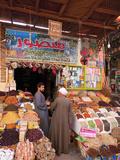 Egypt  Upper Egypt  Aswan  Old Town Souk