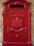 Malta  Europe  a Coloured Letter Box  Normally Found in Village or Town Cores Complimenting Colourf