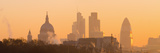 UK  England  London  City of London Skyline at Sunrise