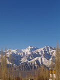 India  Ladakh  Leh  Stok Kangri Peak from Leh  Stok Kangri Is the Highest Mountain in Stok Range in
