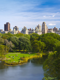 USA  New York  Manhattan  Central Park  Belvedere Lake