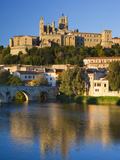 France  Languedoc-Roussillon  Herault Department  Beziers  Cathedrale St-Nazaire Cathedral and the
