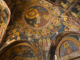 Historical Wallpaintings in Panagia Forviotissa Church in Asinou  Troodos Mountains  Cyprus