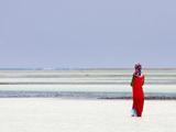 Tanzania  Zanzibar  Unguja  Pongwe  a Lady Looks Out to Sea