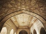 Ceiling of Khas Mahal in Agra Fort  Agra  Uttar Pradesh  India