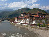 The 17th Century Punakha Dzong (The Palace of Great Happiness)  Second Oldest and Second Largest Dz