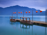 Taiwan  Nantou  Sun Moon Lake  Hanbi Peninsula  Late President Chiang Kai-Shek's Private Wharf