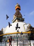 Shree Ghal Jempal Stupa in Central Kathmandu  Nepal