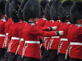 United Kingdom  England  London  the Mall  Trooping of the Colour  Solders/Guards
