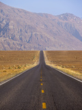 USA  California  Death Valley National Park  Badwater Road Landscape