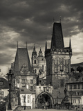 Czech Republic  Prague  Stare Mesto (Old Town)  Little Quarter (Mala Strana) and Charles Bridge