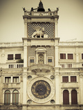 Torre Dell'Orologio (St Mark's Clocktower)  Piazza San Marco  Venice  Italy