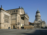 The Gendarmenmarkt Is a Square in Berlin  and the Site of the Konzerthaus and the French and German