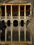 Italy  Veneto  Vicenza  Western Europe  'Loggetta Valmarana' on a Canal Which Today Forms Part of O