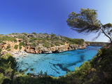 Spain  Balearic Islands  Mallorca  Calo D'Es Moro Beach