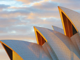 Australia  New South Wales  Sydney  Sydney Opera House  Close-Up at Sunrise