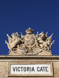 Malta  Europe  Coat of Arms on the Victoria Gate  Dating Back to the British Rule