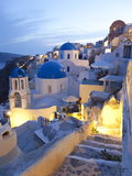 Dusk  Oia  Santorini  Cyclades Islands  Greece
