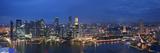 Singapore  Singapore Aerial View of Singapore Skyline