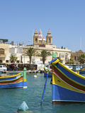 Traditional Fishing Boats  Marsaxlokk  Malta