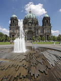 The Berlin Cathedral (Berliner Dom) in the Centre of Berlin on a Summer's Day