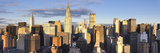 Midtown Skyline with Chrysler Building and Empire State Building  Manhattan  New York City  USA