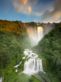 Italy  Umbria  Terni District  Terni  Marmore Falls  One of the Tallest Waterfalls in Europe  165 M