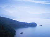 Taiwan  Nantou  View of Sun Moon Lake