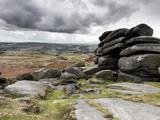 UK  England  Derbyshire  Peak District National Park  Higger Tor Towards Hathersage