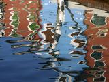 Canal Reflections  Burano  Veneto Region  Italy