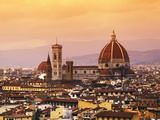 Italy  Florence  Tuscany  Western Europe  'Duomo' Designed by Famed Italian Architect Brunelleschi