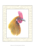 Rooster Insets I